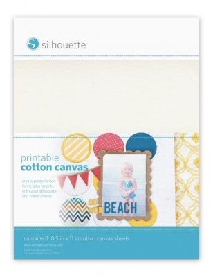 Silhouette Cotton Canvas