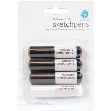 silhouette sketchpens
