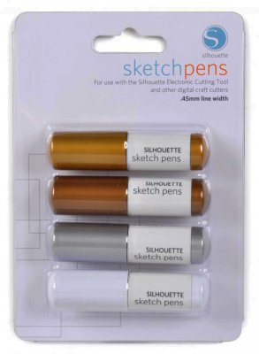 silhouette sketchpennor metallic